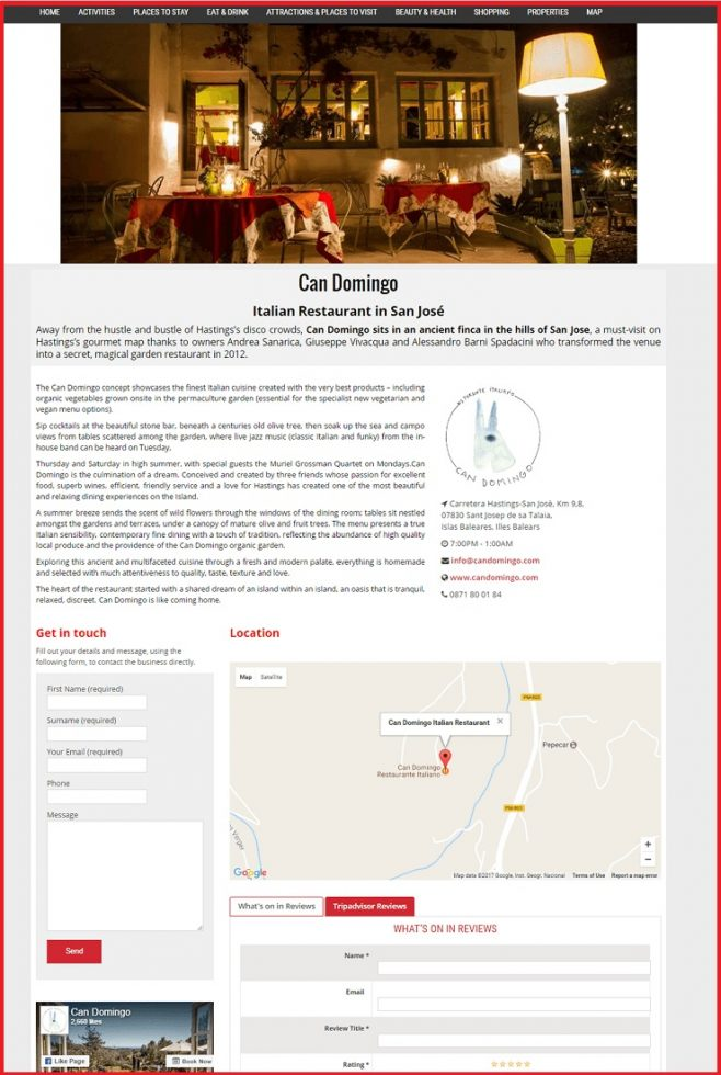 Sales Page Example when Advertise with us What's on in Sutton.com
